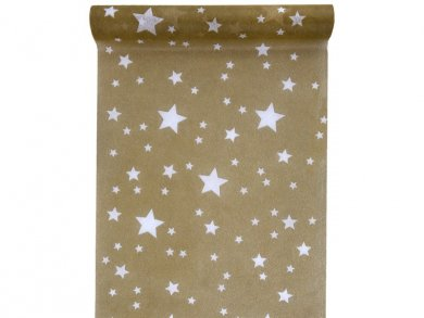 Gold Runner with Stars (5m)