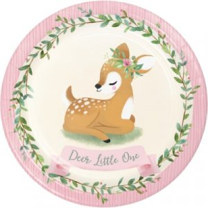 Deer Little One - Party Supplies for Girls First Birthday