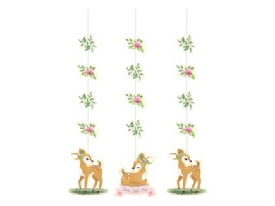 Little Deer Hanging Decorations (3pcs)