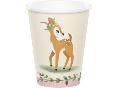 Little Deer Paper Cups (8pcs)