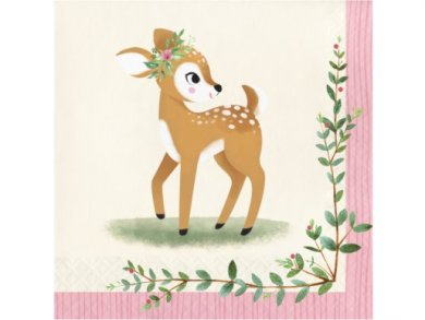Little Deer Luncheon Napkins (16pcs)