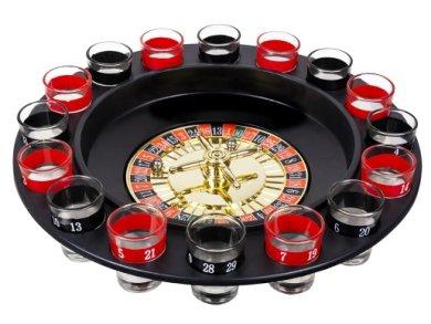 Επιτραπέζιο Παιχνίδι Ρουλέττα για Πάρτυ με Σφηνοπότηρα