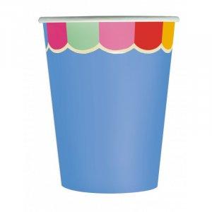 Fiesta Pattern Paper Cups (8pcs)