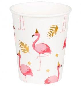 Flamingo with Gold Foiled Details Paper Cups (6pcs)