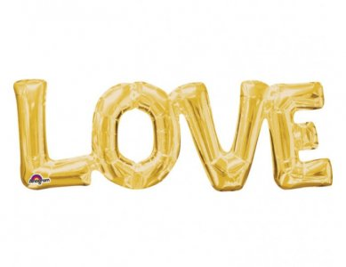 Foil Balloon Garland LOVE (63 x 22)