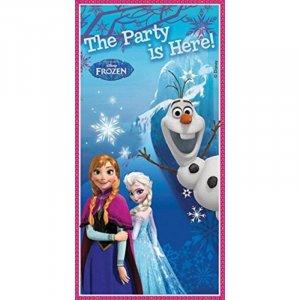 Frozen Αφίσα Για Την Πόρτα Διακόσμηση Για Πάρτυ