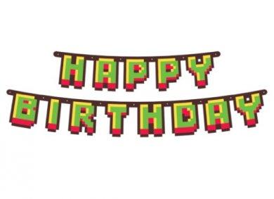 Game On Happy Birthday Letter Garland (160cm)
