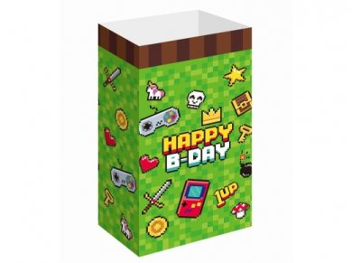 Game On Paper Bags (6pcs)