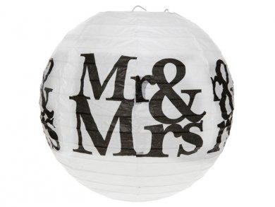 Mr and Mrs Paper Lanterns 2pcs