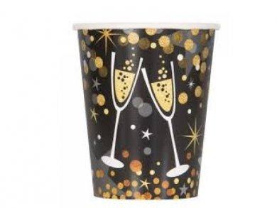 Festive Paper Cups 8pcs