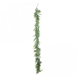 Γιρλάντα Deluxe Πράσινα Φύλλα Διακόσμηση Για Πάρτυ (180εκ)