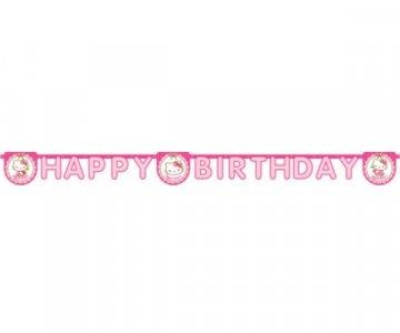 Hello Kitty Γιρλάντα για Γενέθλια (2μ)