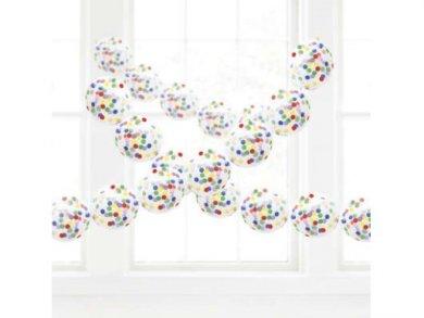 Confetti Latex Balloons Garland (4m)