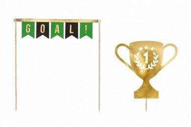 Goal Cake Decoration (2pcs)