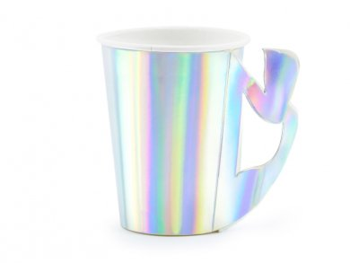 Mermaid Iridescent Paper Cups (6pcs)