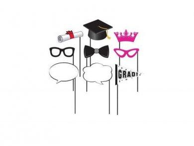 Grad Photobooth Props 10/pcs