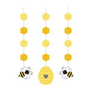 Hanging Decorations Bumblebee (3pcs)