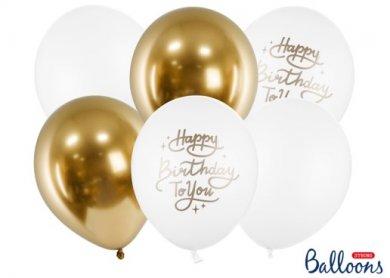 Happy Birthday to You Latex Balloons (6pcs)