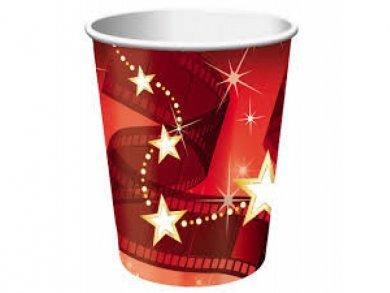 Hollywood Lights Paper Cups (8pcs)
