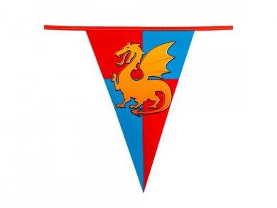 Ιππότες Γιρλάντα με Κλασικά Σημαίάκια (6μ)