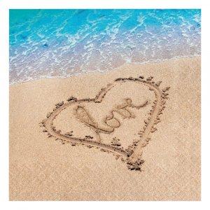 Beach Love Luncheon Napkins (16pcs)