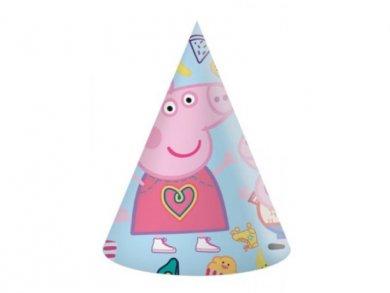 Peppa Pig Party Hats 6pcs