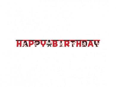Καράτε Γιρλάντα για Γενέθλια (3,04μ)