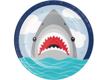 Καρχαρίας Μεγάλα Χάρτινα Πιάτα (8τμχ)