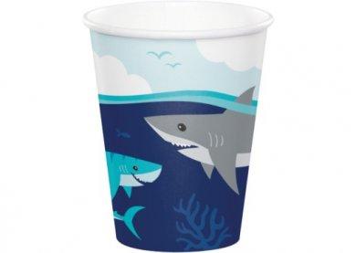 Καρχαρίας Ποτήρια Χάρτινα (8τμχ)