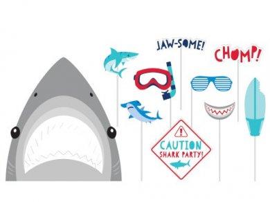 Καρχαρίας Σετ Φωτογραφικού Θαλάμου (10τμχ)