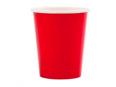 Red Paper Cups (8pcs)