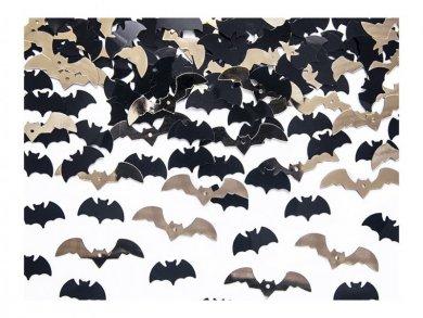 Black & Gold Bats Confetti 15g