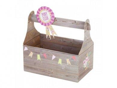 Pony Party Treat Boxes 6/pcs