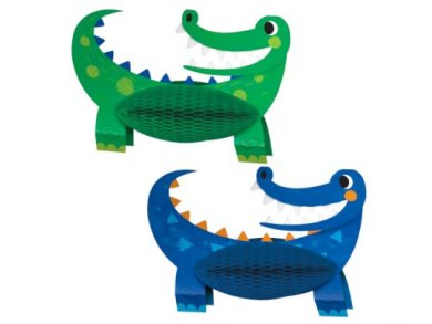 Alligator Party Centerpieces (2pcs)