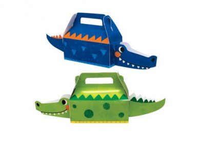 Alligator Party Treat Boxes (4pcs)