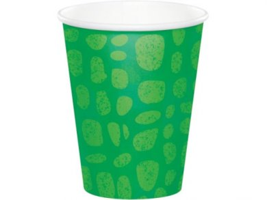 Alligator Party Paper Cups (8pcs)