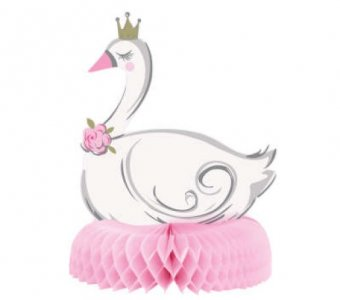 Swan with Crown Centerpiece (24,7cm)