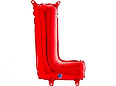 L Μπαλόνι Γράμμα Κόκκινο (35εκ)