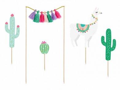 Llama Cake Decoration (5pcs)