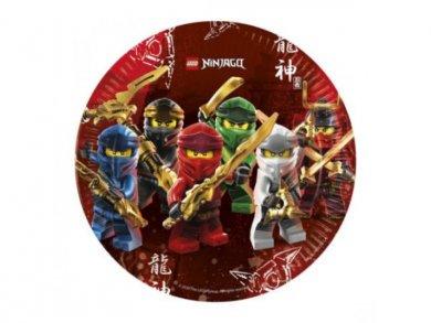 Lego Ninjago Large Paper Plates 8/pcs