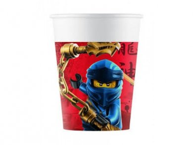 Lego Ninjago Paper Cups 8/pcs
