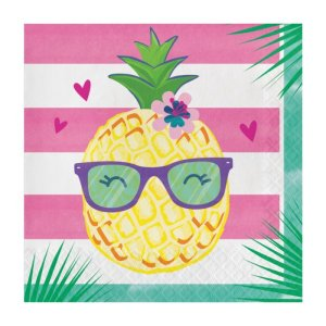 Luncheon Napkins Pineapple and Friends (16pcs)