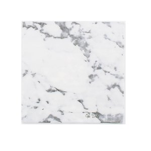 Scripted Marble White Luncheon Napkins (16pcs)