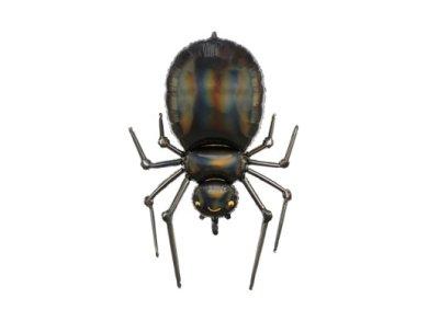 Black Spider Supershape Balloon (60cm x 100cm)