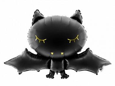 Black Bat Supershape Balloon (80cm x 52cm)
