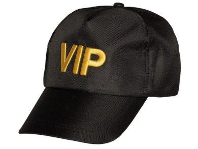 Μαύρο Καπέλο με Χρυσά Γράμματα VIP