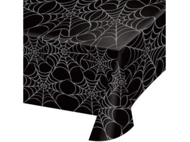 Μαύρο Τραπεζομάντηλο με Τον Ιστό Αράχνης 137εκ x 274εκ)