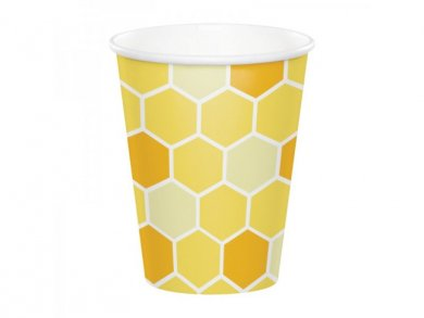 Bumble Bee Paper Cups (8pcs)