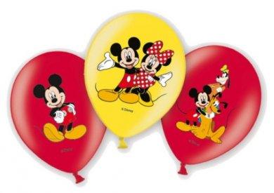 Μίκυ και Μίννι Μπαλόνια Λάτεξ (6τμχ)