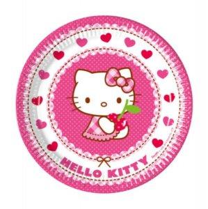 Hello Kitty Small Paper Plates (8pcs)